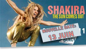 Shakira – концерт в Париж, Франция, 14.06.2011
