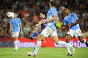 Барселона - Осасуна, 27.01.2013г. мач от Премиера дивизион