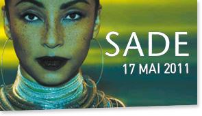 Sade – концерт в Париж, Франция, 17.05.2011