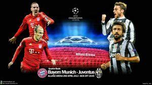 Шампионска лига четвъртфинали: Байрен Мюнхен - Ювентус, 02.04.2013