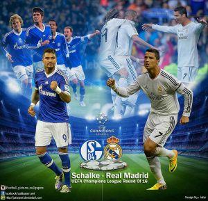 Шампионска лига: Реал Мадрид - Шалке 04, 18 март 2014г.