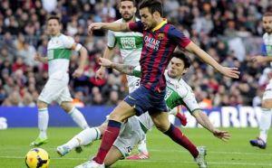 Барселона - Елче, 24.08.2014г. мач от La Liga