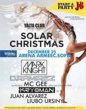 SOLAR CHRISTMAS MARK NIGHT D.RAMIREZ, MC GEE , 2x KRYOMAN