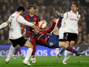 Барселона - Валенсия, 08 февруари 2012г. - за купата на Краля