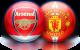 Арсенал и Манчестър Юнайтед, 22.01.2012